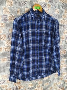 Excited to share this item from my #etsy shop: Faded Glory Cotton Flannel Grunge Unisex Small Plaid Checkered Blue 90s Buttondown Grunge Styles Size S #womenflannelsmall #checkeredflannel #boyfriendflannel #vintageflannel90s #rebuildflannel #grungeflannelshirt #menplaidflannel #menflannelsmall #menflannelshirt Plaid Flannel, Flannel Shirt, Faded Glory, Grunge Fashion, Men Casual, Etsy Shop, Unisex, Cotton, Mens Tops