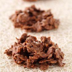 Découvrez la recette des roses des sables au chocolat