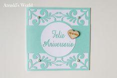 Tarjeta Aniversario boda - Anuski´s World