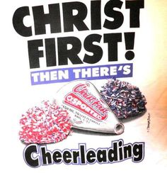 Christ 1st First Cheerleading Christian T-shirt Whether you are a Yell leader…