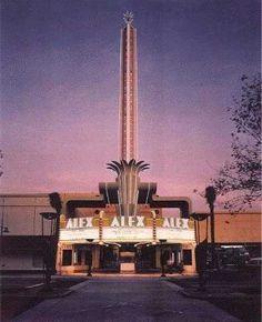 Alex Theatre, Glendale, CA.