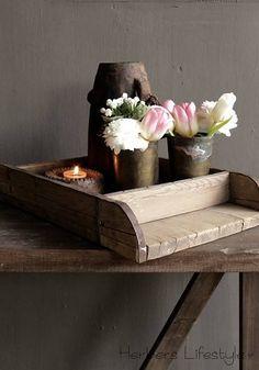 Authentieke houten Steenmal