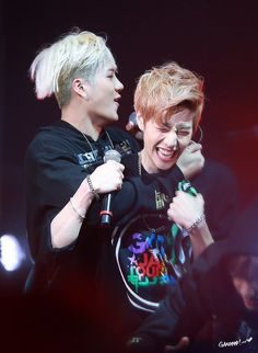 Mark [마크] and Jackson [잭슨] // MarkSon Got7 Jackson, Mark Jackson, Jackson Wang, Youngjae, Kim Yugyeom, Markson Got7, 2ne1, Jaebum, Btob