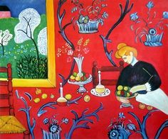 The Dessert: Harmony in Red, Henri Matisse