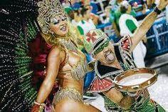 Bailarines de samba en el Carnaval de Río de Janeiro.