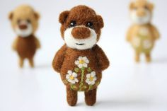 21 Ideas Natural Needle felted toys   PicturesCrafts.com