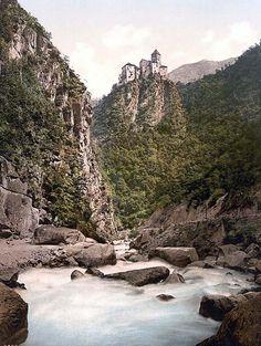 Eggenthal i.e., Eggental, Karneid, Tyrol, Austro-Hungary taken between 1890 and 1900 in Tyrol, Austro-Hungary.
