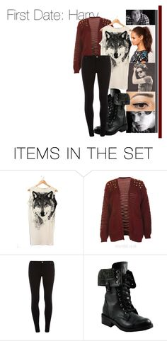 """""""First Date: Harry"""" by dressingupwith1d ❤ liked on Polyvore featuring art, one direction, harry styles, imagines, preferences, preference and harry"""