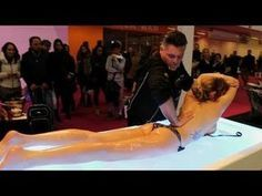 PEOPLE ARE AWESOME 2017 - His Handskill that win a massage contest - Best Massage GOD SKILL - YouTube