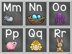 Page 3 of 5 Alphabet Posters, Fall Bulletin Boards, Vip Kid, Pre K Activities, English Alphabet, Printables, Education, School, Kids