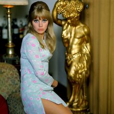 Britt Ekland: The Swedish Beauty Icon ~ vintage everyday – Tatiana Anders – beauty Britt Ekland, Style Année 60, Looks Style, Style Icons, 60s Icons, Vintage Glamour, Vintage Beauty, Vintage Models, Vintage Photos