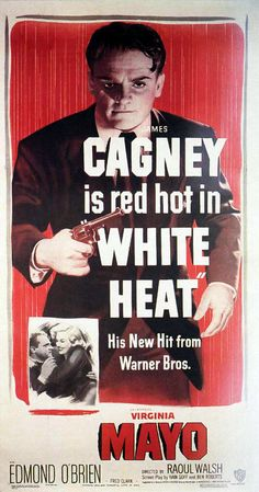 James Cagney as Cody Jarrett in White Heat
