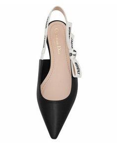 Dior JAdior Leather Slingback Flat