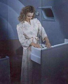 Marilyn Monroe (Norma Jeane) in advertising for Douglas Airlines, Young Marilyn Monroe, Norma Jean Marilyn Monroe, Playboy, Santa Monica, Joe Dimaggio, Rare Images, She Movie, Norma Jeane, Guys Be Like