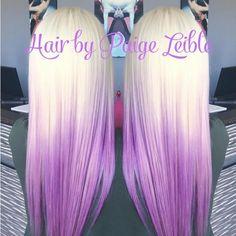 nice 20 Ideas Purple Ombre Hair //  #Hair #Ideas #Ombre #purple