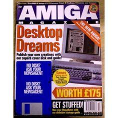 CU Amiga: 1995 - October - Desktop dreams Desktop Publishing, Pinball, Magazines, Retro Vintage, October, Positivity, How To Get, Dreams, Journals