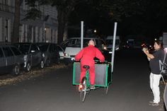 Performance by Patrick Jambon SURVIVAL@Intervention - Open Space Berlin