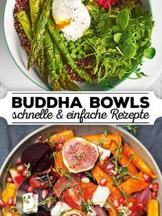 Wir verraten euch wunderbar einfache und leckere Buddha Bowl Rezepte, die ihr garantiert nachkochen wollt!