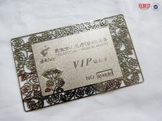 Silver Metal VIP Card Vip Card, Silver Metal, Business Cards, Frame, Lipsense Business Cards, Picture Frame, Frames, Name Cards, Visit Cards