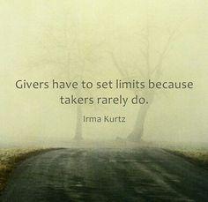 Givers.......Irma Kurtz