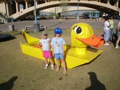 More of the Other Cardboard Boat Participants Make A Boat, Build Your Own Boat, Summer Camp Activities, Activities For Kids, Cardboard Box Boats, Summer Crafts For Kids, Kid Crafts, Kids Yard, Sailing Dinghy