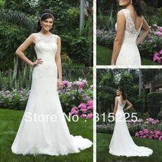 Online Shop New Charming Muslim Wedding Dress Bridal Gown Mermaid Jewel Lace Applique Chapel Train Button Zipper Back Sleeveless Sheer Top Aliexpress Mobile