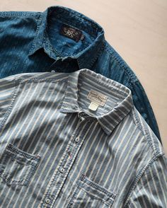 JUST IN: Two new indigo specials from #RRL. In stores and online. Link to new arrivals in profile.
