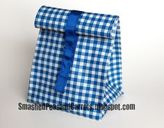 How to sew this lunch bag