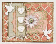Cheery Lynn Designs Blog: Sweethearts Card by Julie Lavalette
