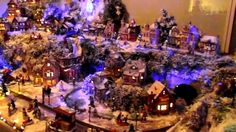 Christmas village lemax miniature selfmade 2012...love all the levels.