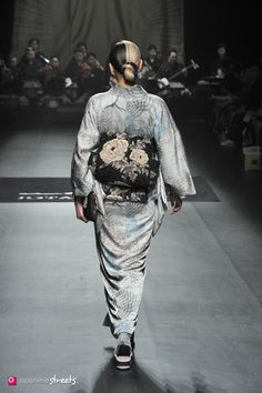 140319-7497 - Autumn/Winter 2014 Collection of Japanese fashion brand JOTARO SAITO on March 19, 2014, in Tokyo.