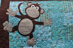 Distant Pickles: Making Monkeys.. And Other Applique'd Animals
