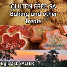 My husband was diagnosed as a celiac in 2009. I have been adjusting my baking recipes over the last 10 years. Just published my kindle book.... These are beautiful recipes and I use them myself everyday. My husband and kids love them, just like Ouma's :) Gluten Free Recipes, Baking Recipes, No Bake Treats, Celiac, 10 Years, Kindle, Husband, Book, Beautiful