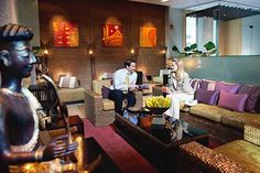 Thai Airways Royal First Class Lounge Bangkok Airport #frequentflyer