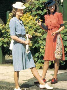 anos 40 vestidos