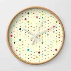 Check out society6curated.com for more! @society6 #art #design #creativity #creative #home #decor #homedecor #clocks #time #apartment #apartmenttherapy #homesweethome #sophomore #sophomoreyear #apartmentgoals #buy #shop #shopping #sale #gift #idea #gifting #giftidea #fun #cool #sweet #awesome #abstract #abstraction #dots #color