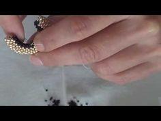 Tutorial tessitura orecchini - YouTube