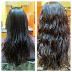 perm wave before and after - Google Search
