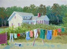 If you only travel the interstates, you miss clothes on the clothesline - as I always tell my husband!