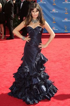 The Dress: Another of Oscar de la Renta's feminine creations.