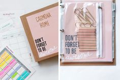 Learn how to take your binder from ordinary to extraordinary! And not just with great style, but the best functional use. This home management binder...