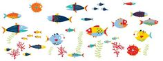 Wall Pops  WPK0615 Fish Tales Wall Decals 38 pieces -- Be sure to check out this awesome product.Note:It is affiliate link to Amazon.