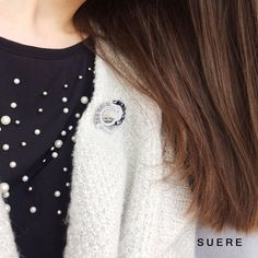 Sutazo sege / Soutache brooch