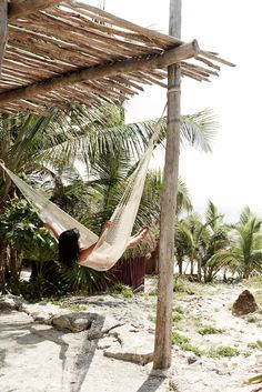 WWW.LUSTFORLIFE.COM | I WISH I WAS CHILLING IN A HAMMOCK ON A BEACH RIGHT ABOUT NOW
