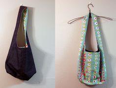 Advanced Beginner's Free Reversible Sling Bag PDF Pattern by LulaLouise