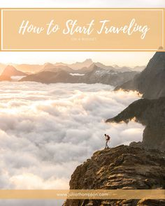 How to Travel on a Budget — JULIA THOMPSON Working Holiday Visa, Working Holidays, Travel Around The World, Around The Worlds, Government Website, First Plane, Starting From The Bottom, Cheap Travel, Travel Essentials