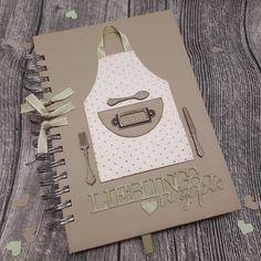 """- pebbles design (@sandra_pebbles) auf Instagram: """"...gerade fertig geworden... ein Geschenk zum Abschied in den Ruhestand ... im Kochbuch steht noch…"""""""