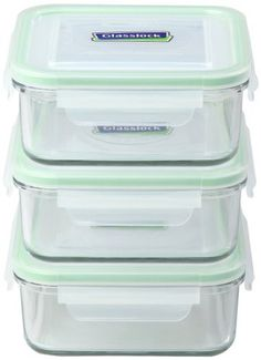 Amazoncom Kinetic GlassLock Series 1317 Rectangular Glass Food