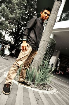 """the Keyboardist """"Gankstar"""" Band wearing our shoes"""