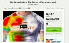 http://www.kickstarter.com/projects/radiate/radiate-athletics-the-future-of-sports-apparel